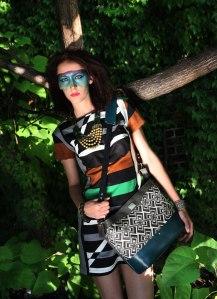 Modeling a Porteen gear Tribal Bag